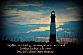 lighthouse saying