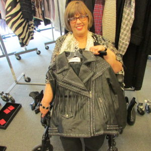 Ann loved this Valentino jacket!