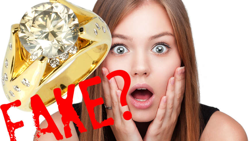 How To Tell If Your Friends Diamond Ring Is Fake
