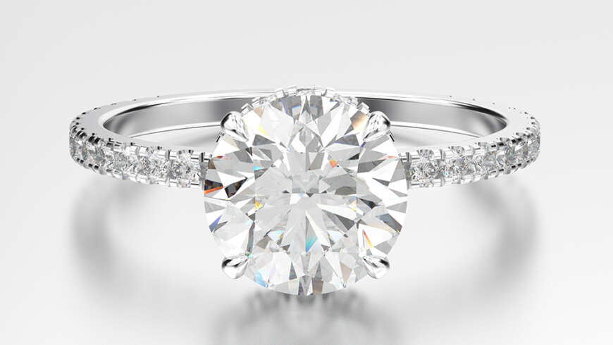 How to get a 3 Carat Size Diamond, Cheaply.