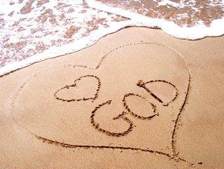 love-god-in-sand