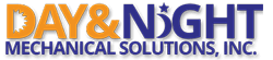 Day & Night Mechanical Solutions Logo