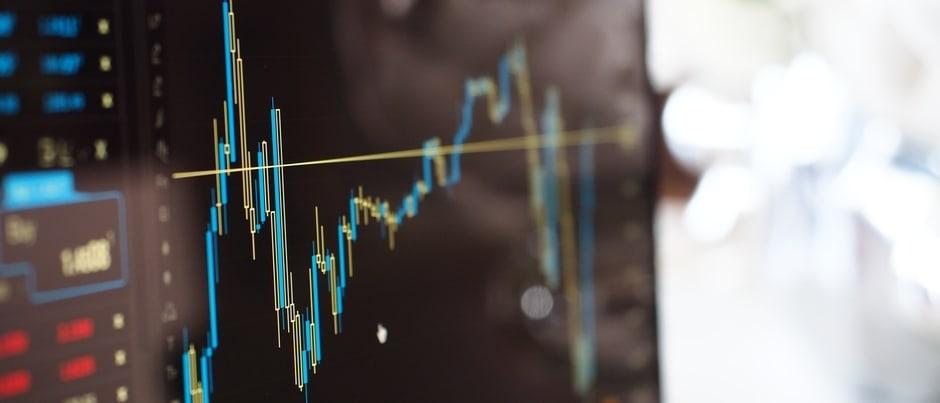 chart depicting market volatility