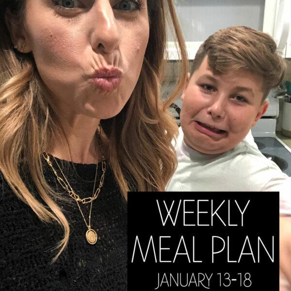 Weekly Meal Plan Keto Skinnytaste Instacart Jillian Rosado