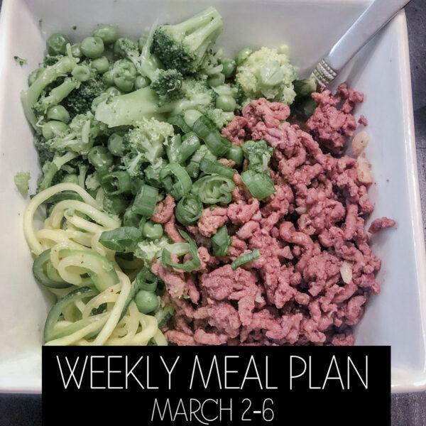 Weekly Meal Planning Skinnytaste