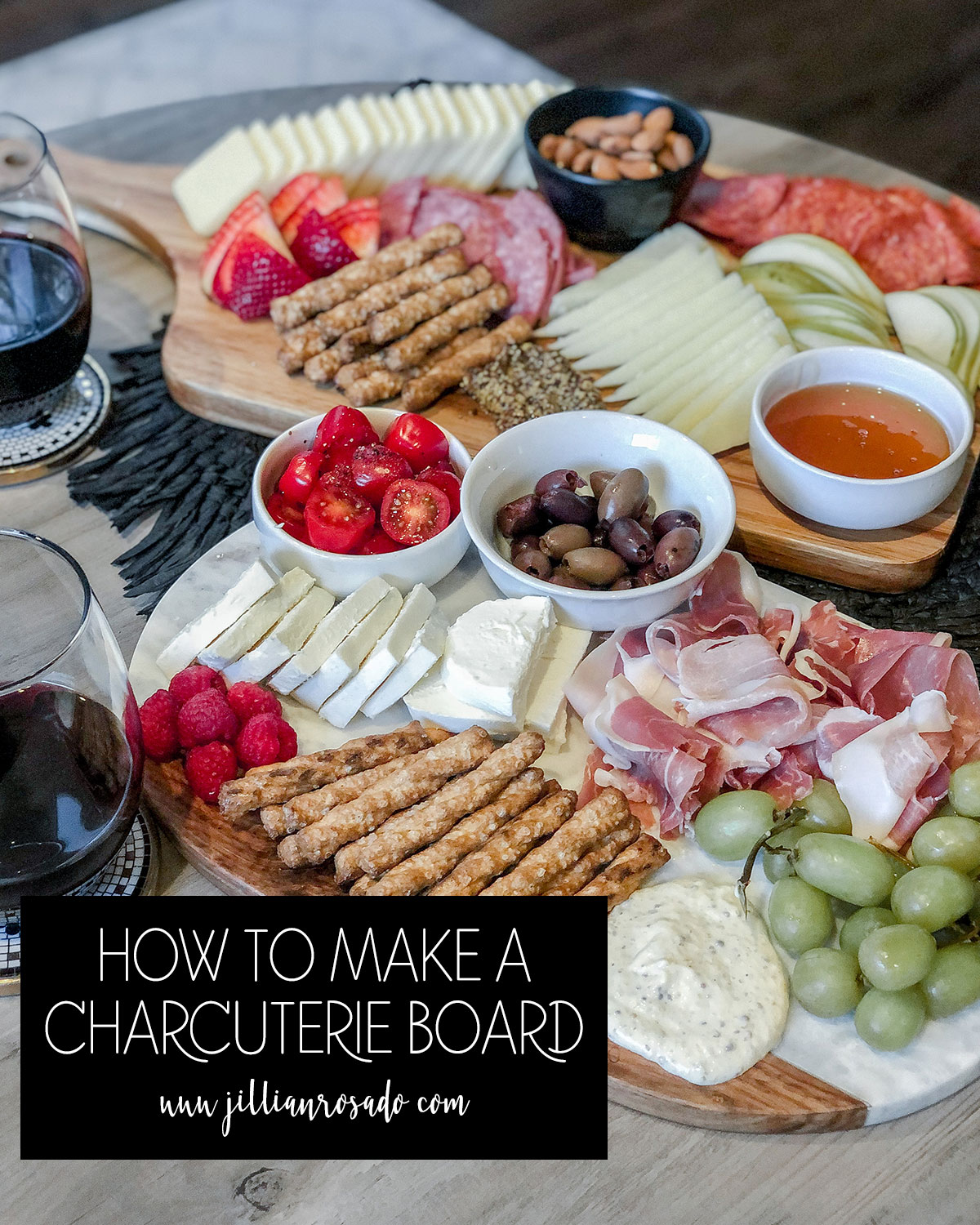 How To Make A Charcuterie Board Cheese Board