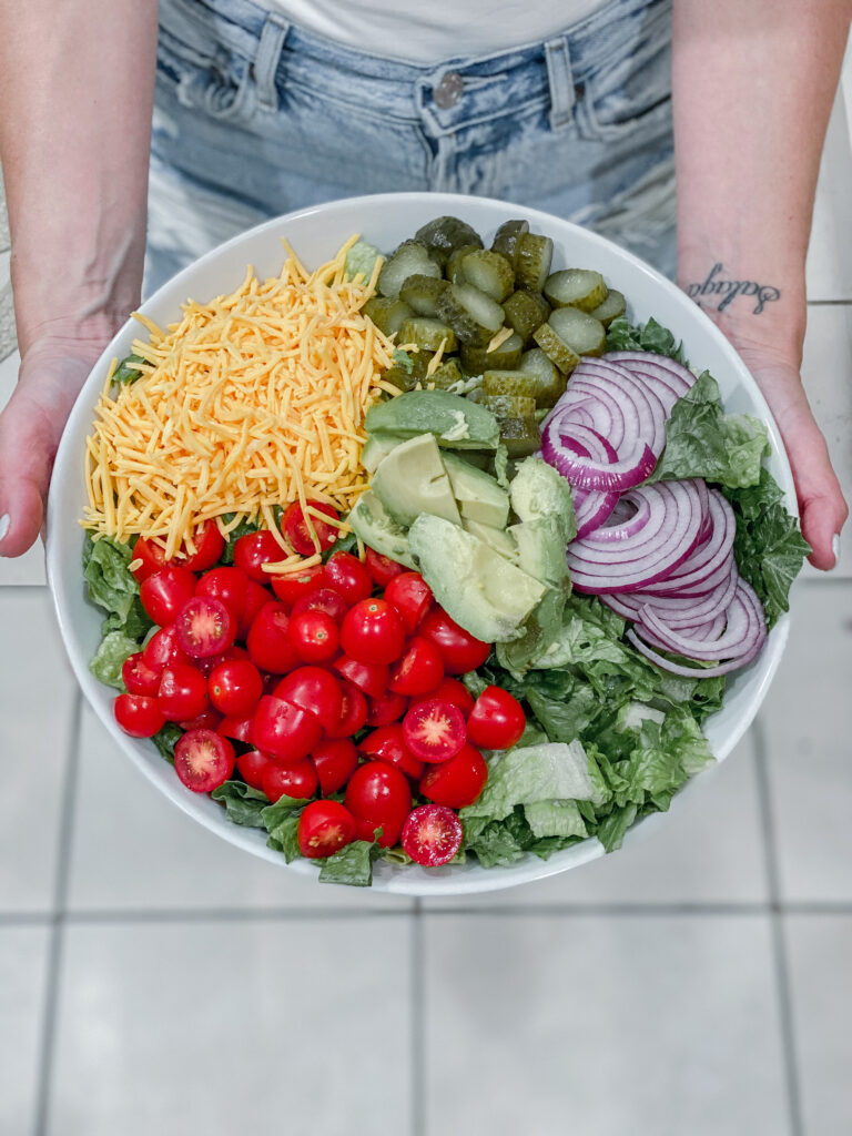 Cheeseburger Salad Skinnytaste