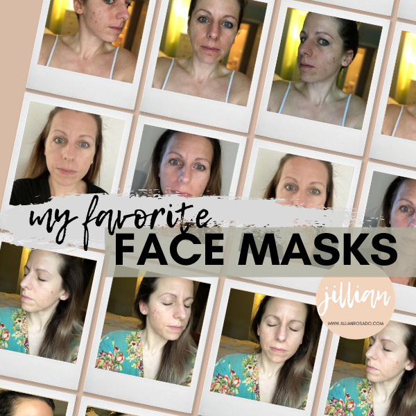 Three Face Masks for Oily Aging Acne Prone Skin