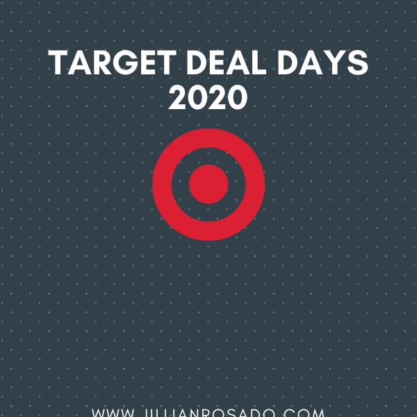 Target Deal Days 2020 Target Circle