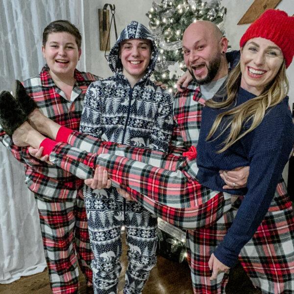 Old Navy Family Christmas Pajamas