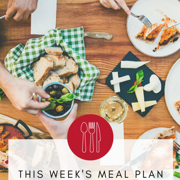 Weekly Meal Plan Dinner Recipes Gluten Free Dairy Free
