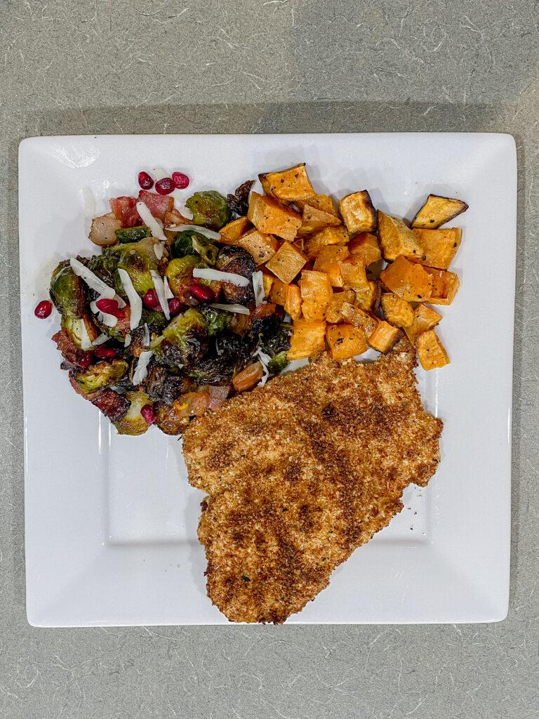 Chicken Cutlet Dinner