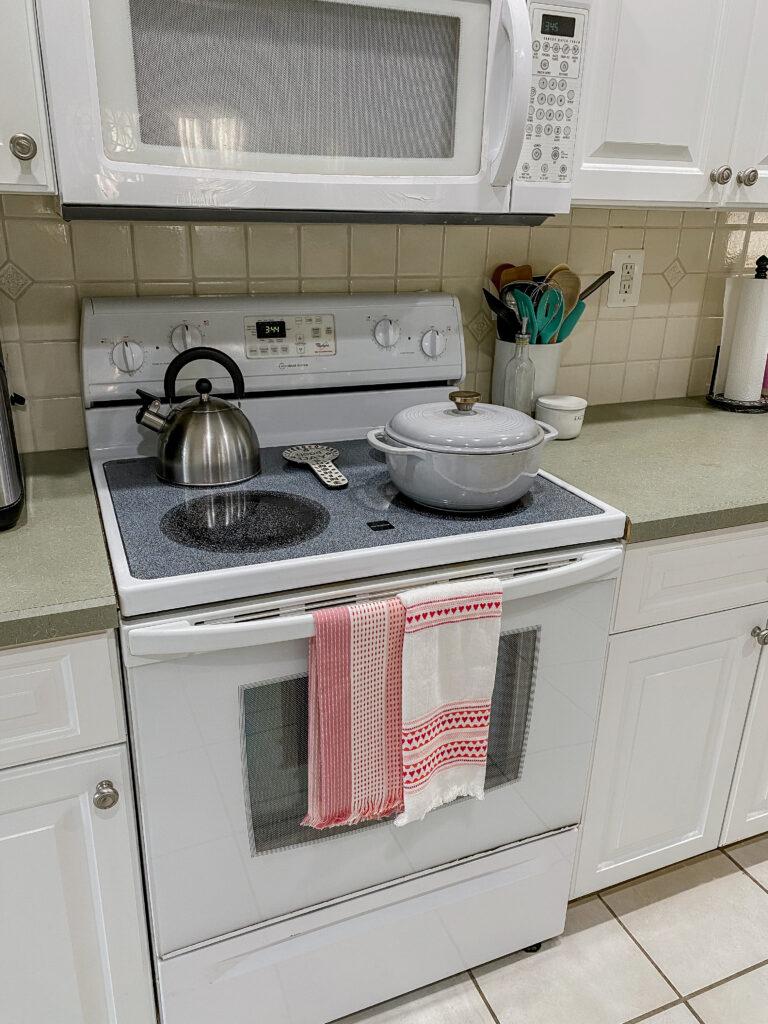 Valentine's Dish Towels