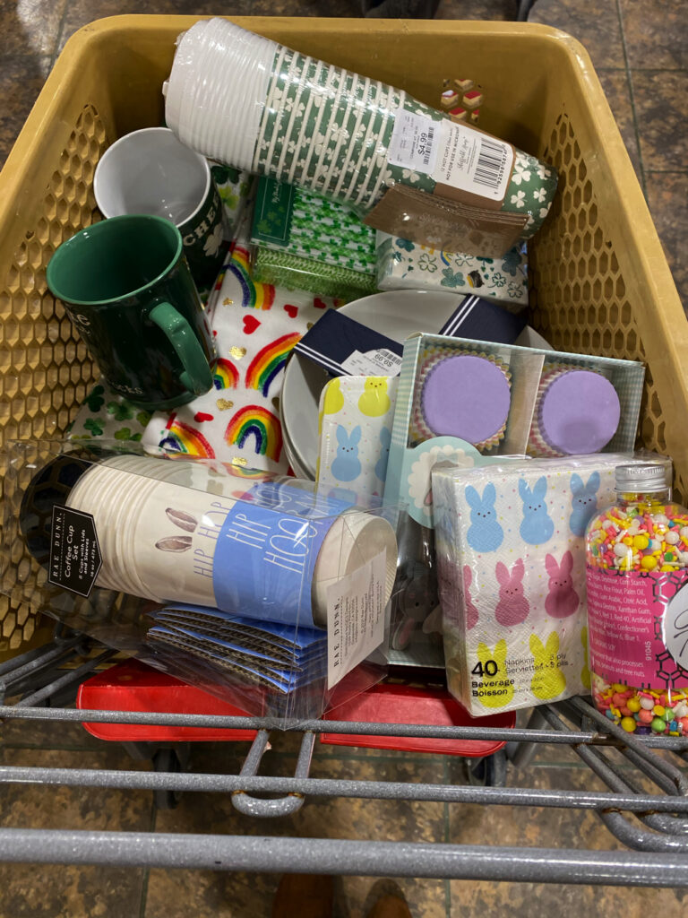 Occasions Bin Home Goods Finds Holiday