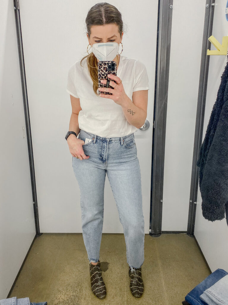 Old Navy Sky Hi Straight Jeans