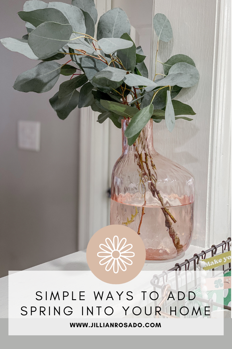 Easy Affordable Spring Home Decor