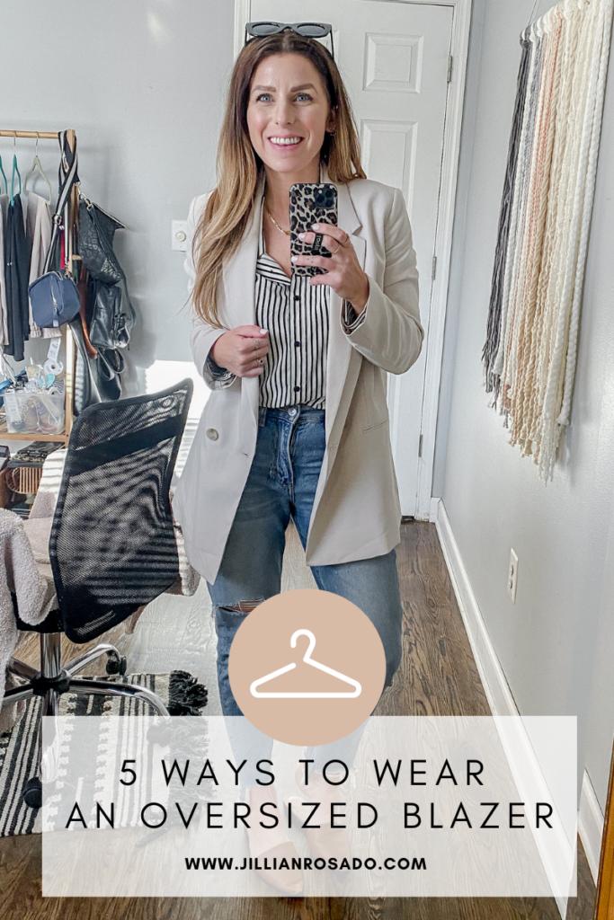 5 Ways To Wear An Oversized Blazer
