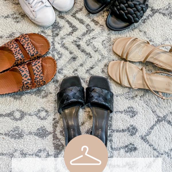 Spring Summer Sandals Sneakers Trends