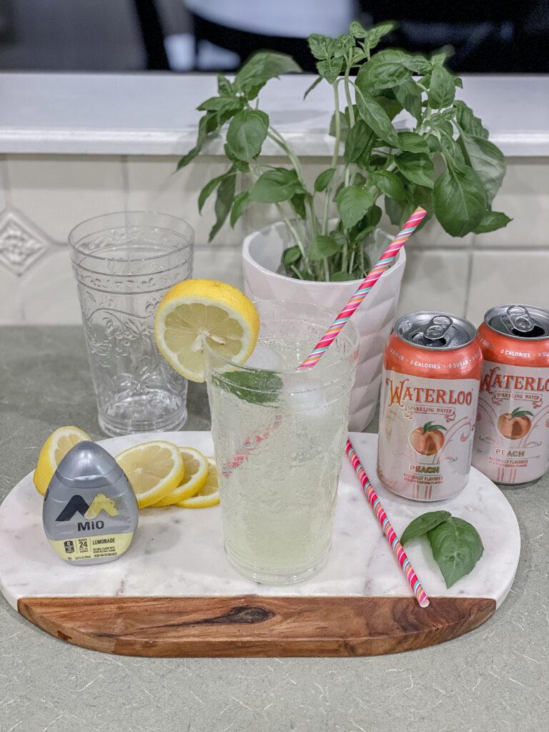 Spring Mocktail Cocktail Lemonade Mio Waterloo Seltzer