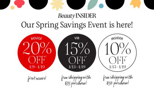 Sephora Spring Savings Event 2021