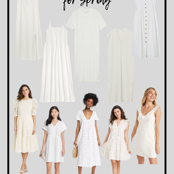 Spring Dresses White Dresses