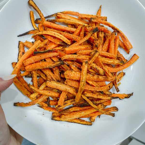 Air Fryer Carrot Fries