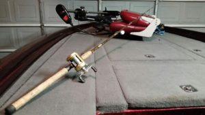 Jackson's shiner fishing set up