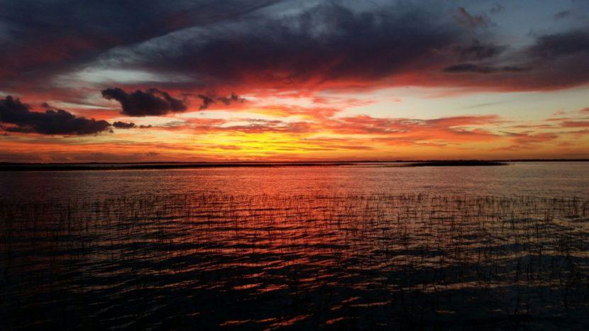 Lake Toho sunrise