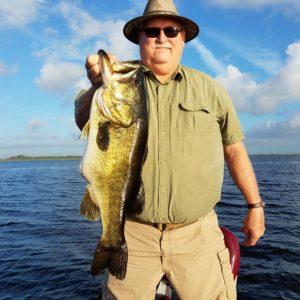 9 pound Kissimmee bass