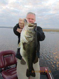Giant Florida bass
