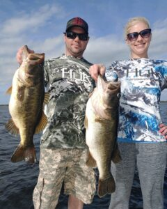 Doubled up with giant Orlando bass