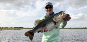 9 pounder caught during the first event on Lake Toho