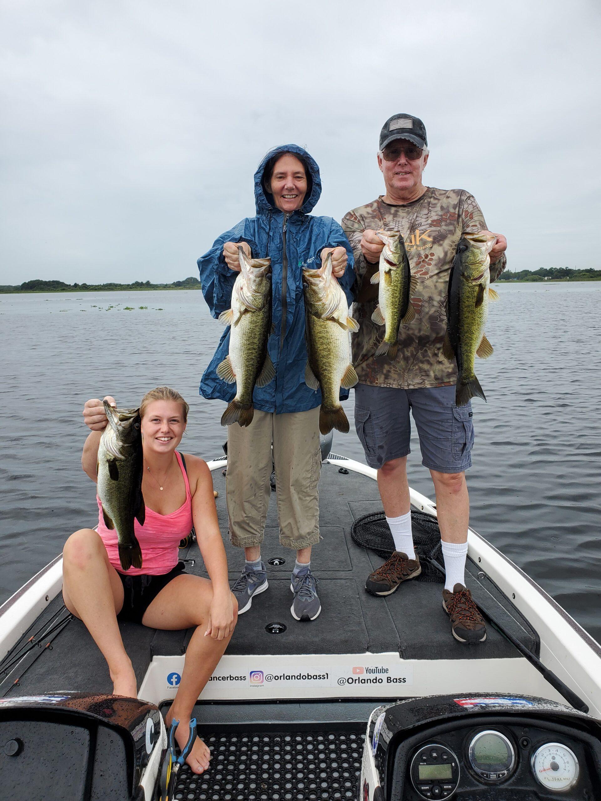 Awesome day bass fishing lake toho