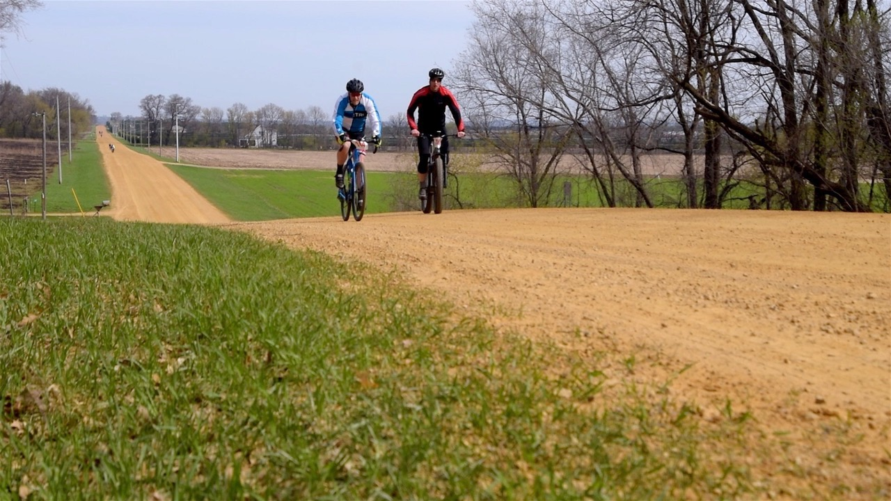 Bikers enjoy one another's company at the Miesville FiftySix