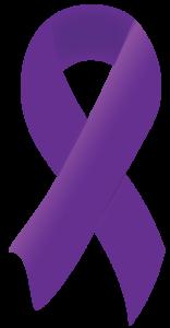 Domestic Violence Awareness Month ribbon