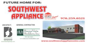 buena vista builders, durango colorado, durango, colorado, bauen group architects, bauen group, southwest appliance, commercial construction