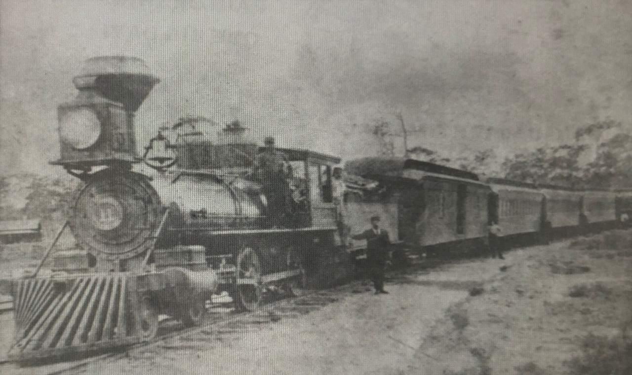 Little White Church - an image of a train