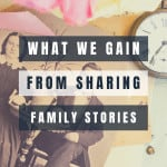 An image of old family photos - Sharing Family Stories