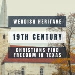 Wends - an image of an old white church