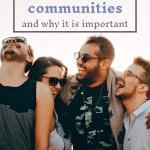 build strong communities