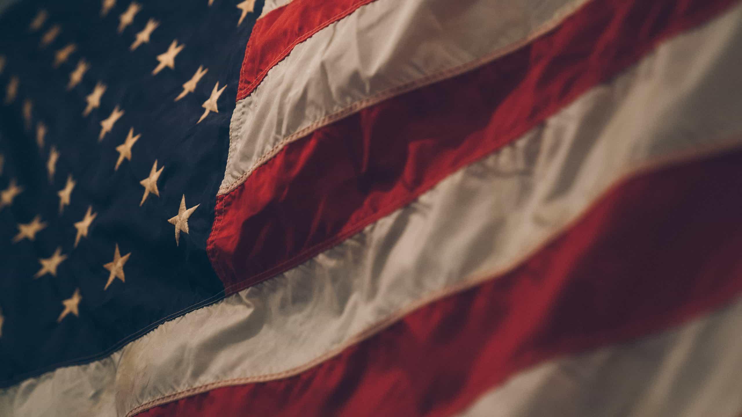American flag decor