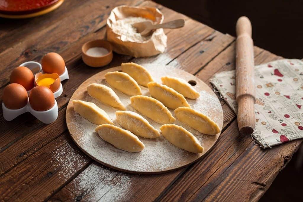 cooking, pies, vareniki