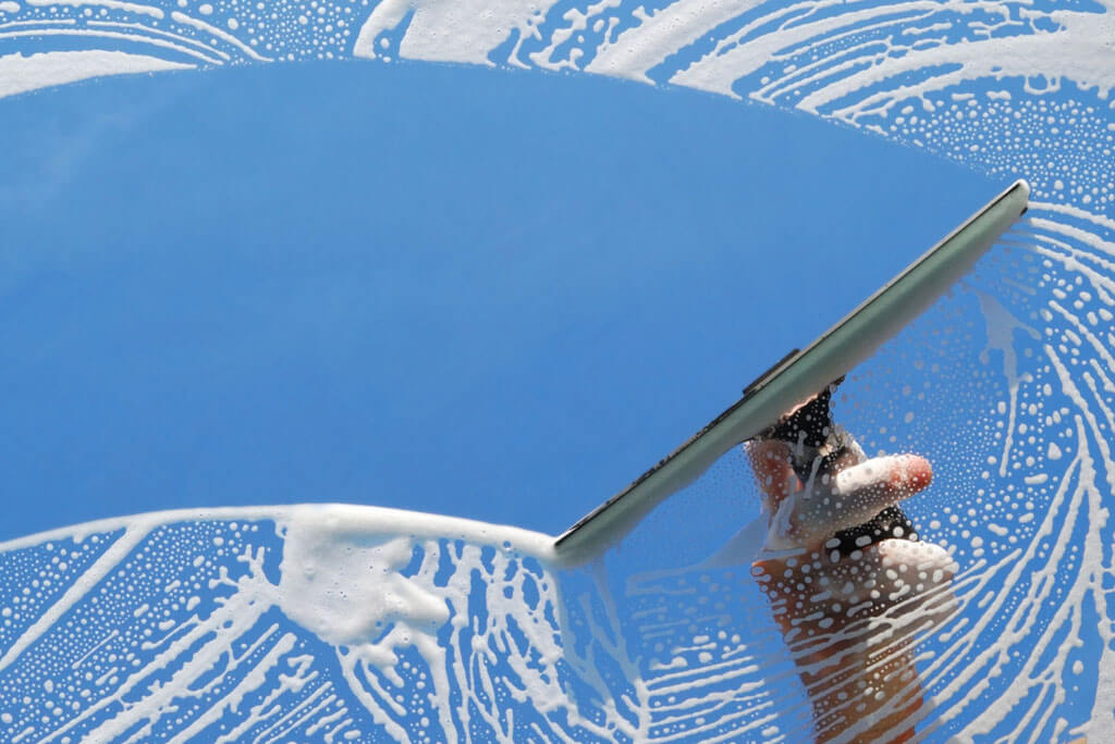 Commercial window cleaning - A Pane in the Glass Window Cleaning