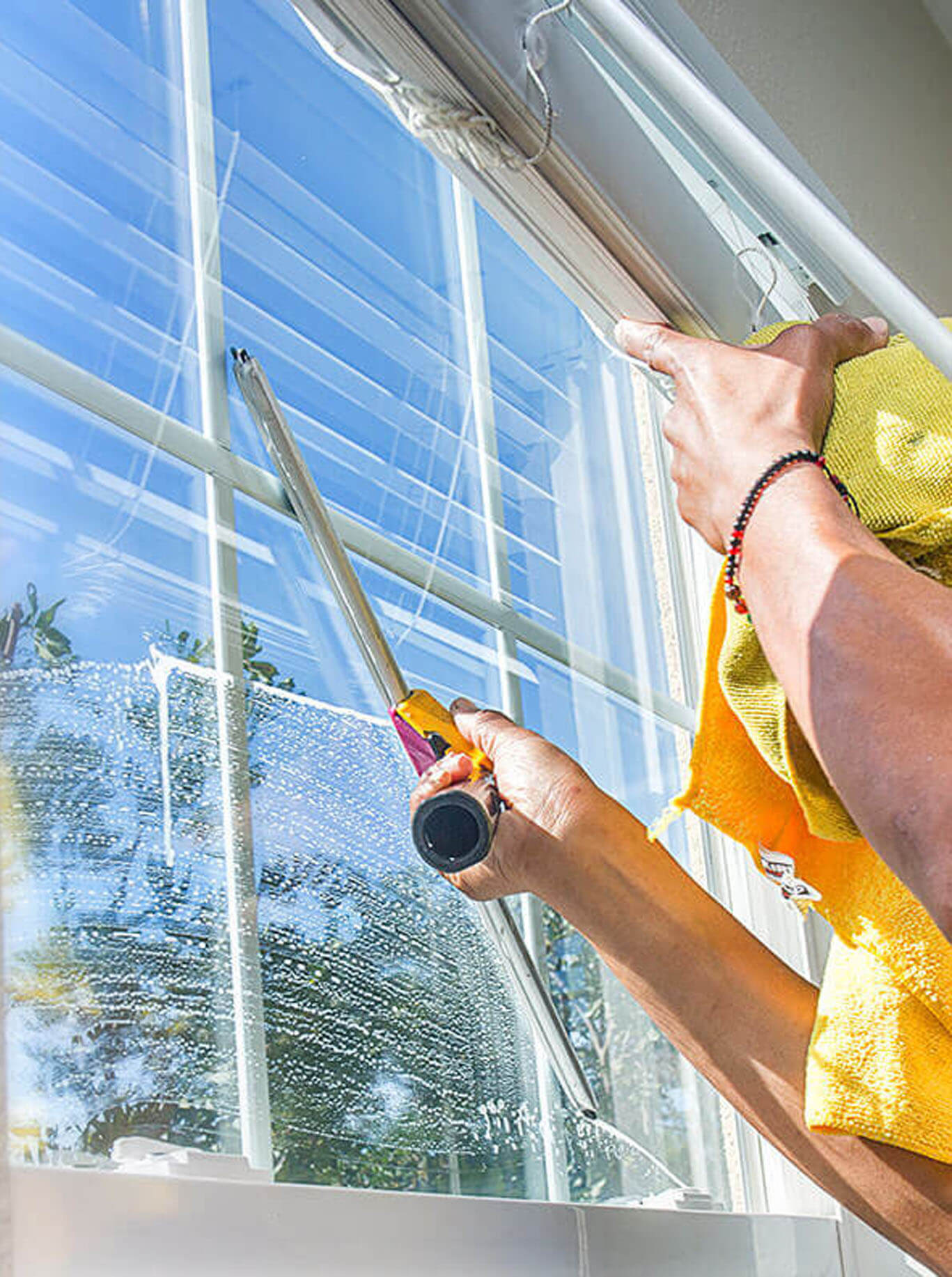 Residential Interior window cleaning - A Pane in the Glass Window Cleaning - Las Vegas, NV