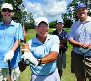 2014.10.02 UNC Golf scholarship Classic