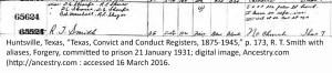 SROUFE_Don_Convict Register State Penitentiary_Huntsville_TX_1931-1932_des