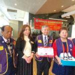 同濟會台灣總會長廖敏榮捐贈一萬個口罩  委由彰頂會捐贈非洲迦納關懷民眾與兒童