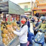 相挺臺灣農民 陳秀寳呼籲多吃鳳梨