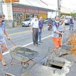 預防颱風來襲 福興排水溝清淤