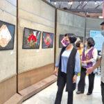 福興穀倉絲絲入扣鹿港織繡創作聯展  展現工藝創作融合傳統與現代創新歷程
